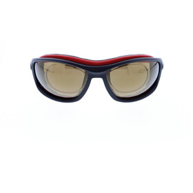 Jill Sport J-SP105 Occhiali da sole, black-red